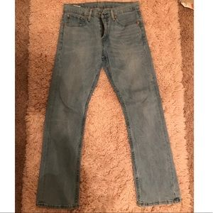 Men's Levi's 527 Jeans Size 31X32 Slim Bootcut